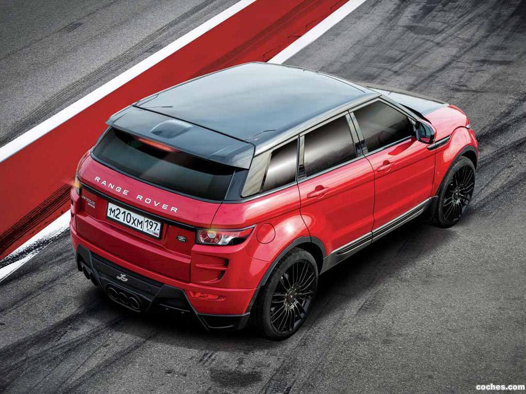 Foto 4 de Land Rover Evoque Larte Design 2014