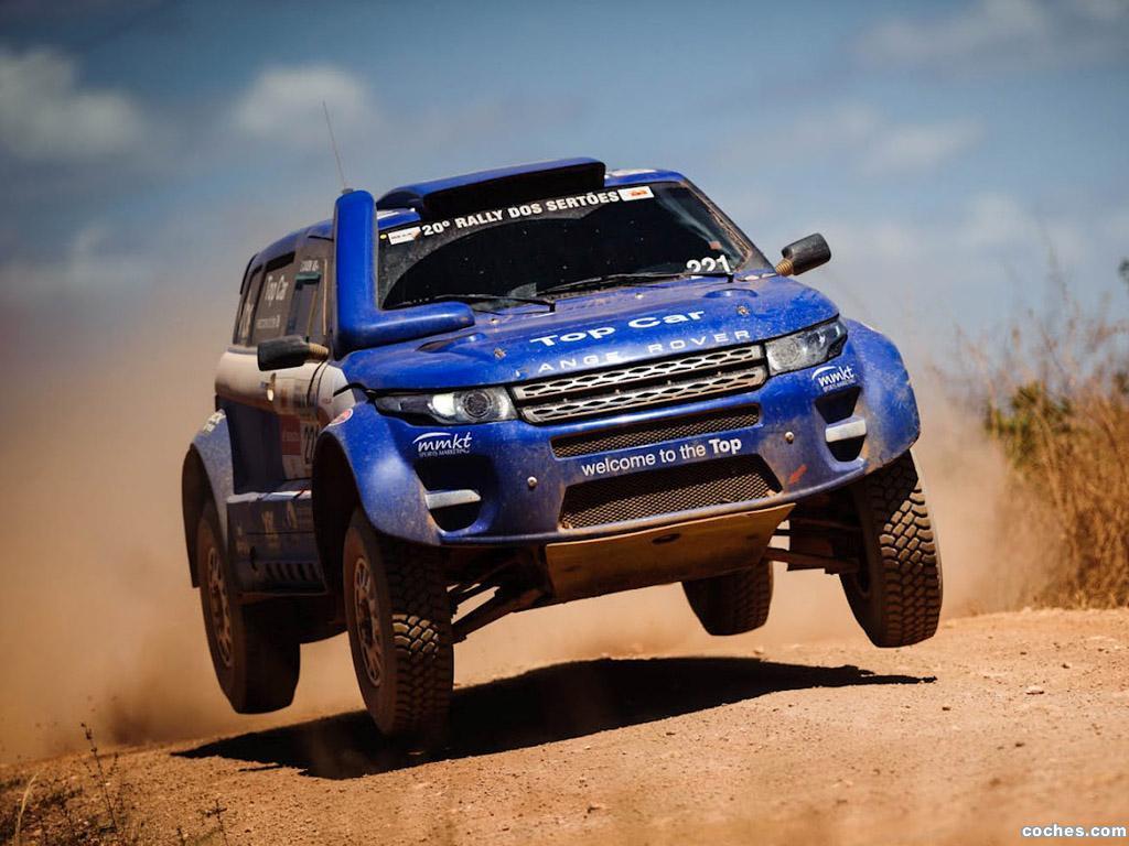 Foto 2 de Land Rover Range Rover Evoque Rally Car 2012