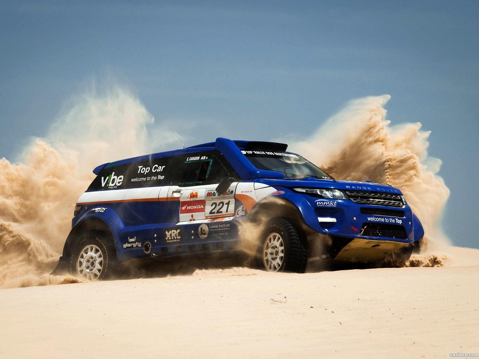Foto 1 de Land Rover Range Rover Evoque Rally Car 2012