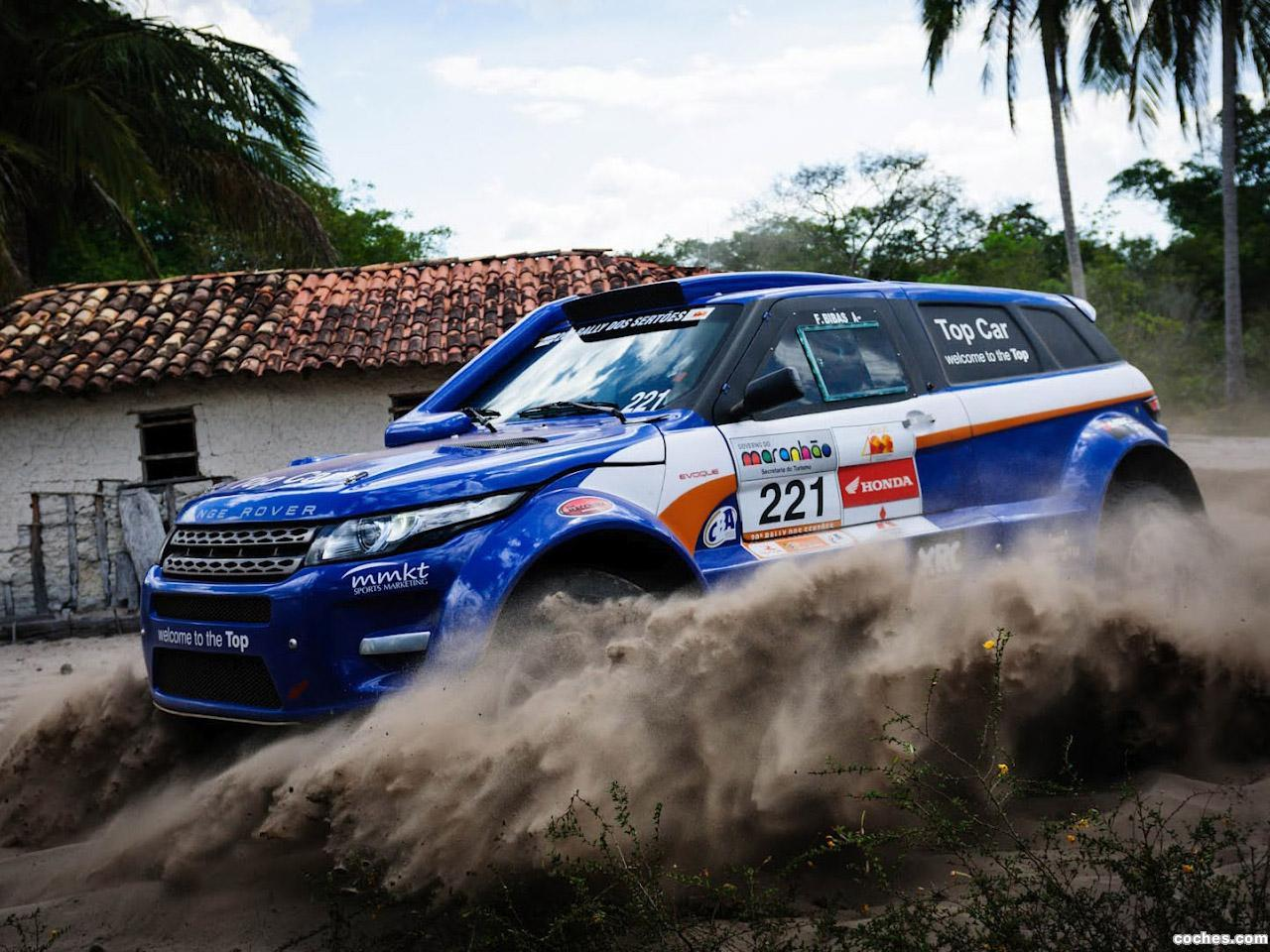 Foto 0 de Land Rover Range Rover Evoque Rally Car 2012