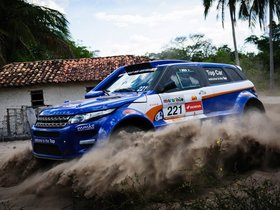 Fotos de Land Rover Range Rover Evoque Rally Car 2012