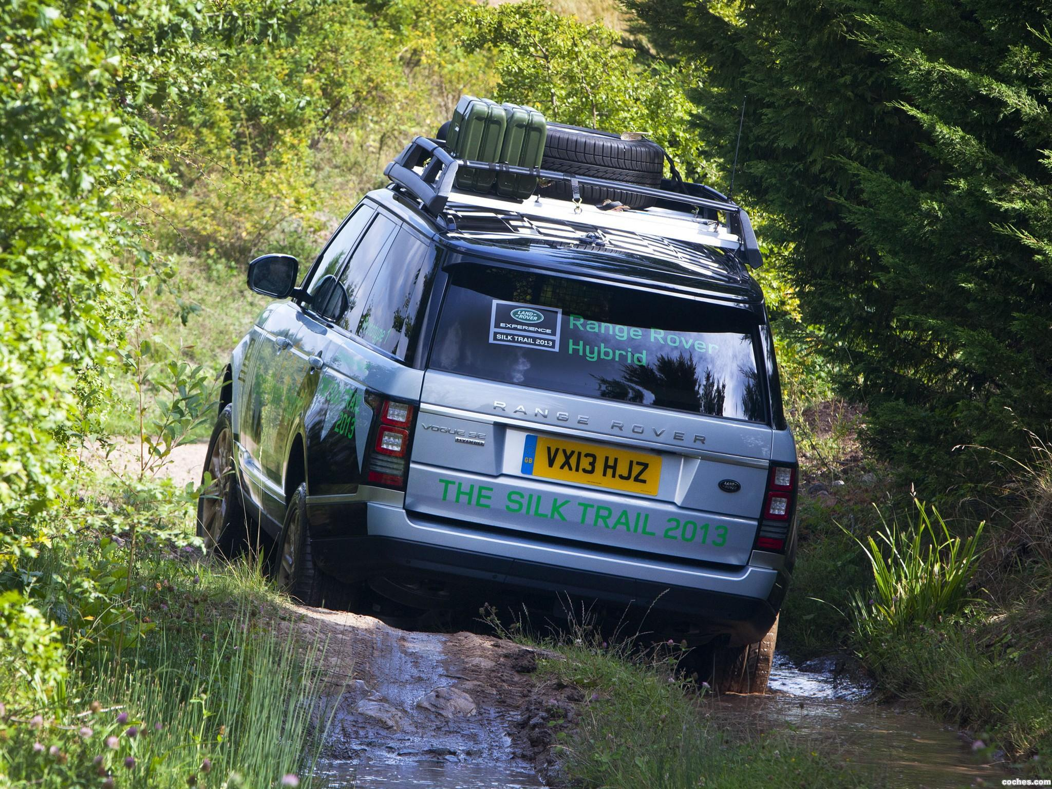 Foto 2 de Land Rover Range Rover Hybrid Prototype L405 2013