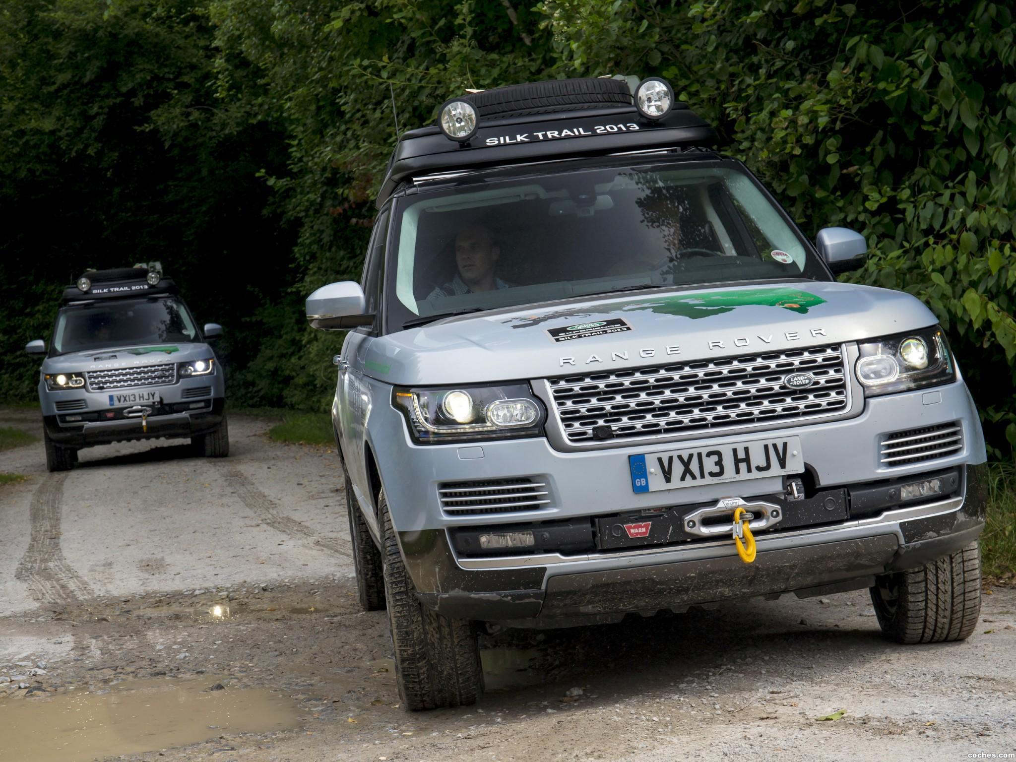 Foto 17 de Land Rover Range Rover Hybrid Prototype L405 2013
