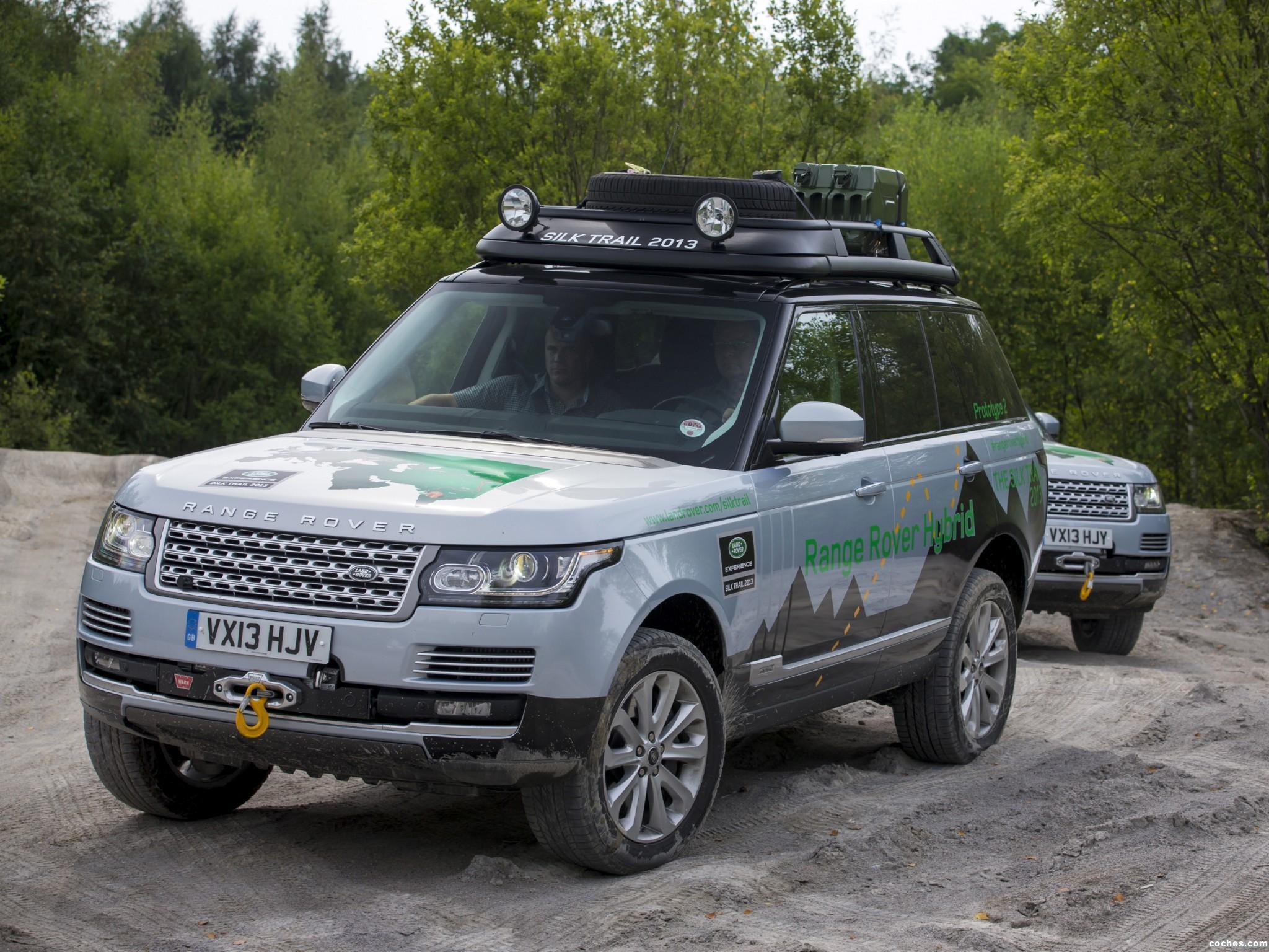 Foto 14 de Land Rover Range Rover Hybrid Prototype L405 2013