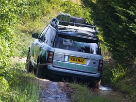 Ver foto 3 de Land Rover Range Rover Hybrid Prototype L405 2013