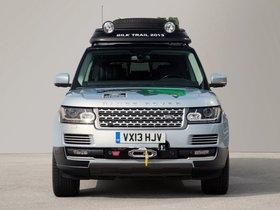 Ver foto 2 de Land Rover Range Rover Hybrid Prototype L405 2013