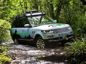 Ver foto 1 de Land Rover Range Rover Hybrid Prototype L405 2013