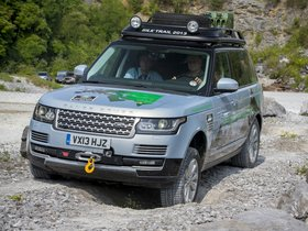 Ver foto 14 de Land Rover Range Rover Hybrid Prototype L405 2013