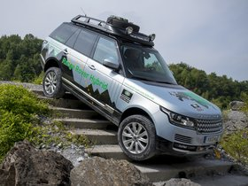 Ver foto 13 de Land Rover Range Rover Hybrid Prototype L405 2013
