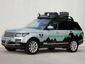 Ver foto 11 de Land Rover Range Rover Hybrid Prototype L405 2013
