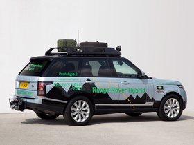 Ver foto 9 de Land Rover Range Rover Hybrid Prototype L405 2013