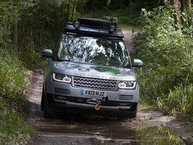 Ver foto 5 de Land Rover Range Rover Hybrid Prototype L405 2013