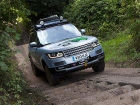 Ver foto 4 de Land Rover Range Rover Hybrid Prototype L405 2013