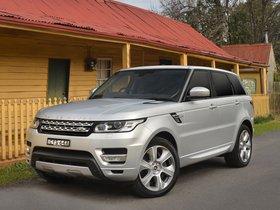 Ver foto 14 de Land Rover Range Rover Sport Autobiography HEV Australia 2015