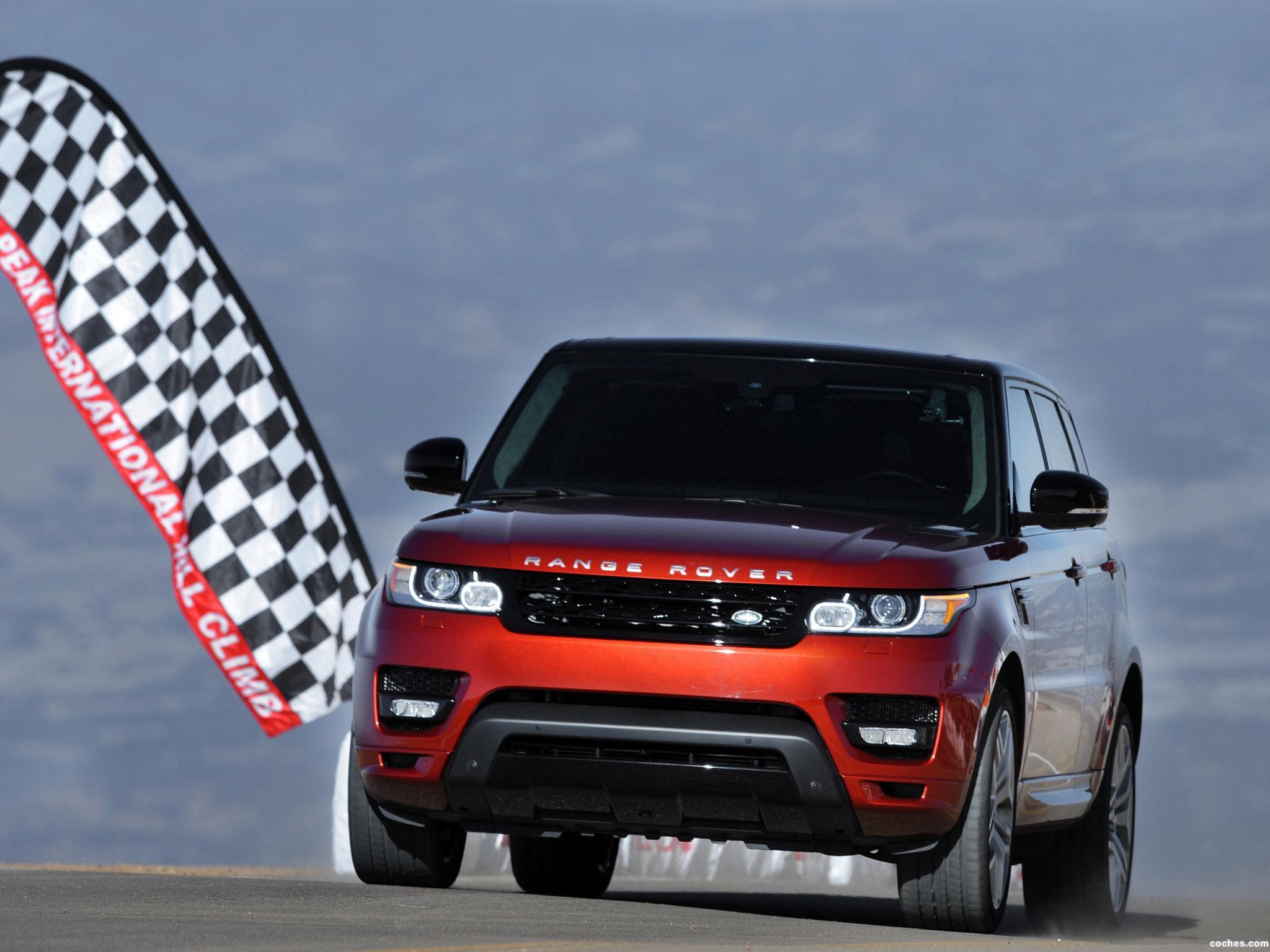 Foto 0 de Land Rover Range Rover Sport Pikes Peak Hill Climb Record Car 2013