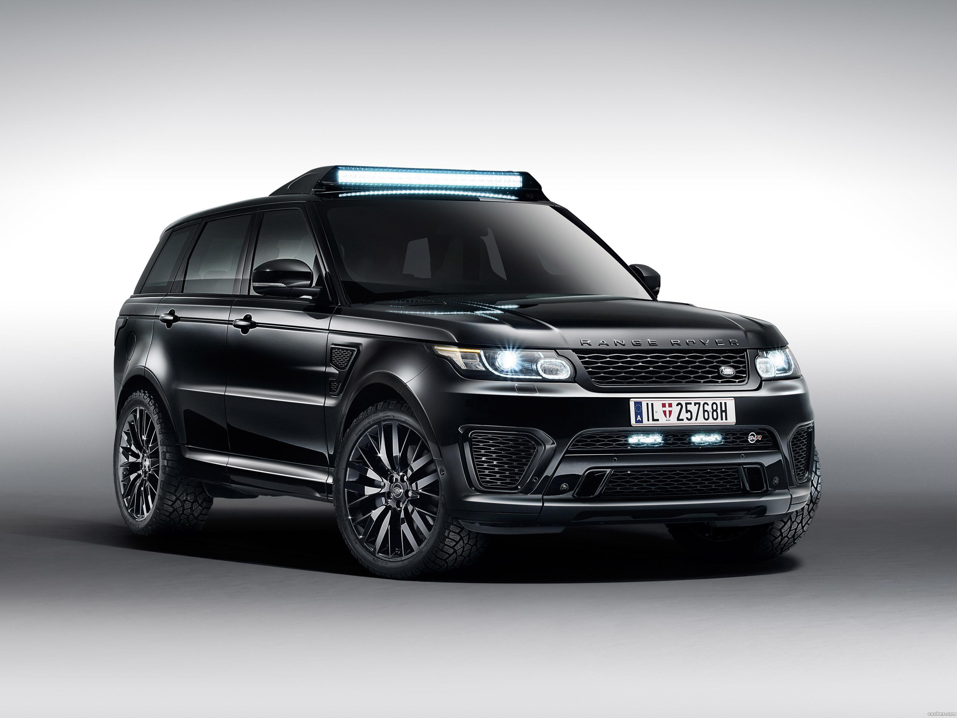 Foto 0 de Land Rover Range Rover Sport SVR 007 Spectre 2015