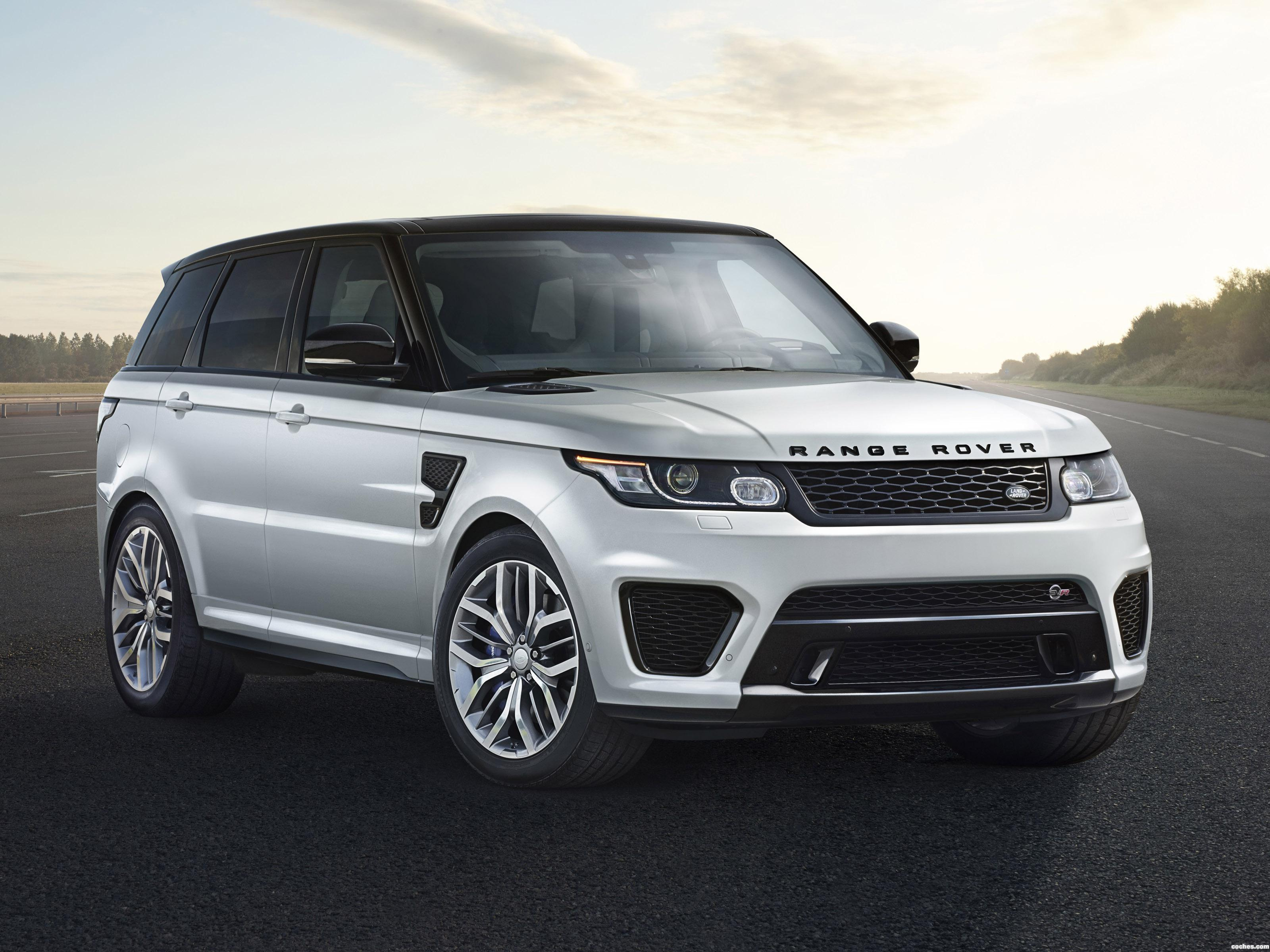 fotos de land rover range rover sport svr 2014. Black Bedroom Furniture Sets. Home Design Ideas