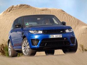 Ver foto 32 de Land Rover Range Rover Sport SVR 2014