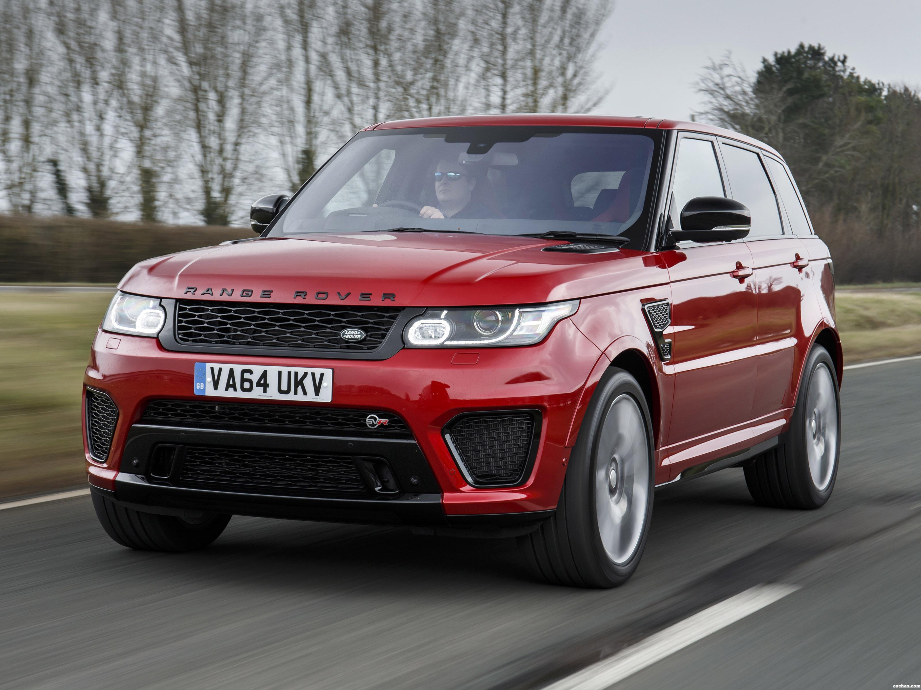 Foto 0 de Land Rover Range Rover Sport SVR UK 2015