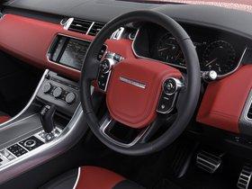 Ver foto 30 de Land Rover Range Rover Sport SVR UK 2015
