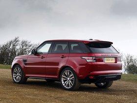 Ver foto 18 de Land Rover Range Rover Sport SVR UK 2015