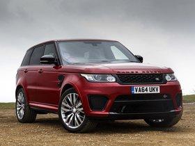 Ver foto 17 de Land Rover Range Rover Sport SVR UK 2015
