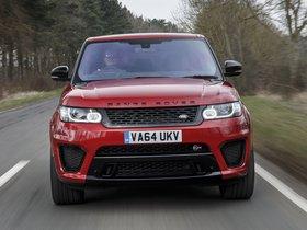Ver foto 15 de Land Rover Range Rover Sport SVR UK 2015