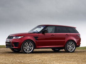 Ver foto 14 de Land Rover Range Rover Sport SVR UK 2015