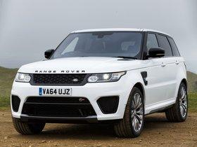 Ver foto 12 de Land Rover Range Rover Sport SVR UK 2015