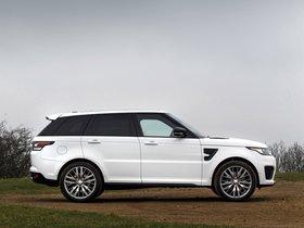 Ver foto 7 de Land Rover Range Rover Sport SVR UK 2015