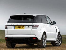 Ver foto 6 de Land Rover Range Rover Sport SVR UK 2015