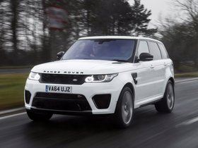 Ver foto 4 de Land Rover Range Rover Sport SVR UK 2015
