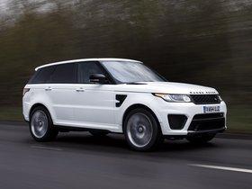 Ver foto 3 de Land Rover Range Rover Sport SVR UK 2015