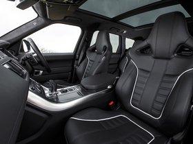 Ver foto 28 de Land Rover Range Rover Sport SVR UK 2015