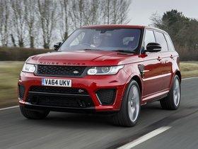 Fotos de Land Rover Range Rover Sport SVR UK 2015