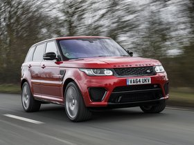 Ver foto 22 de Land Rover Range Rover Sport SVR UK 2015