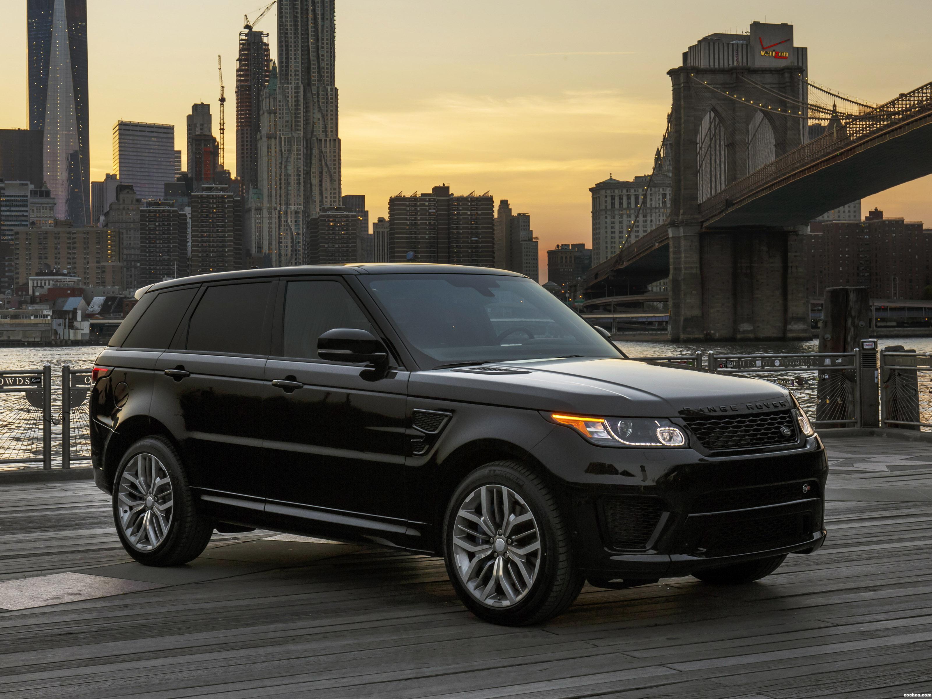 Foto 0 de Land Rover Range Rover Sport SVR USA 2015