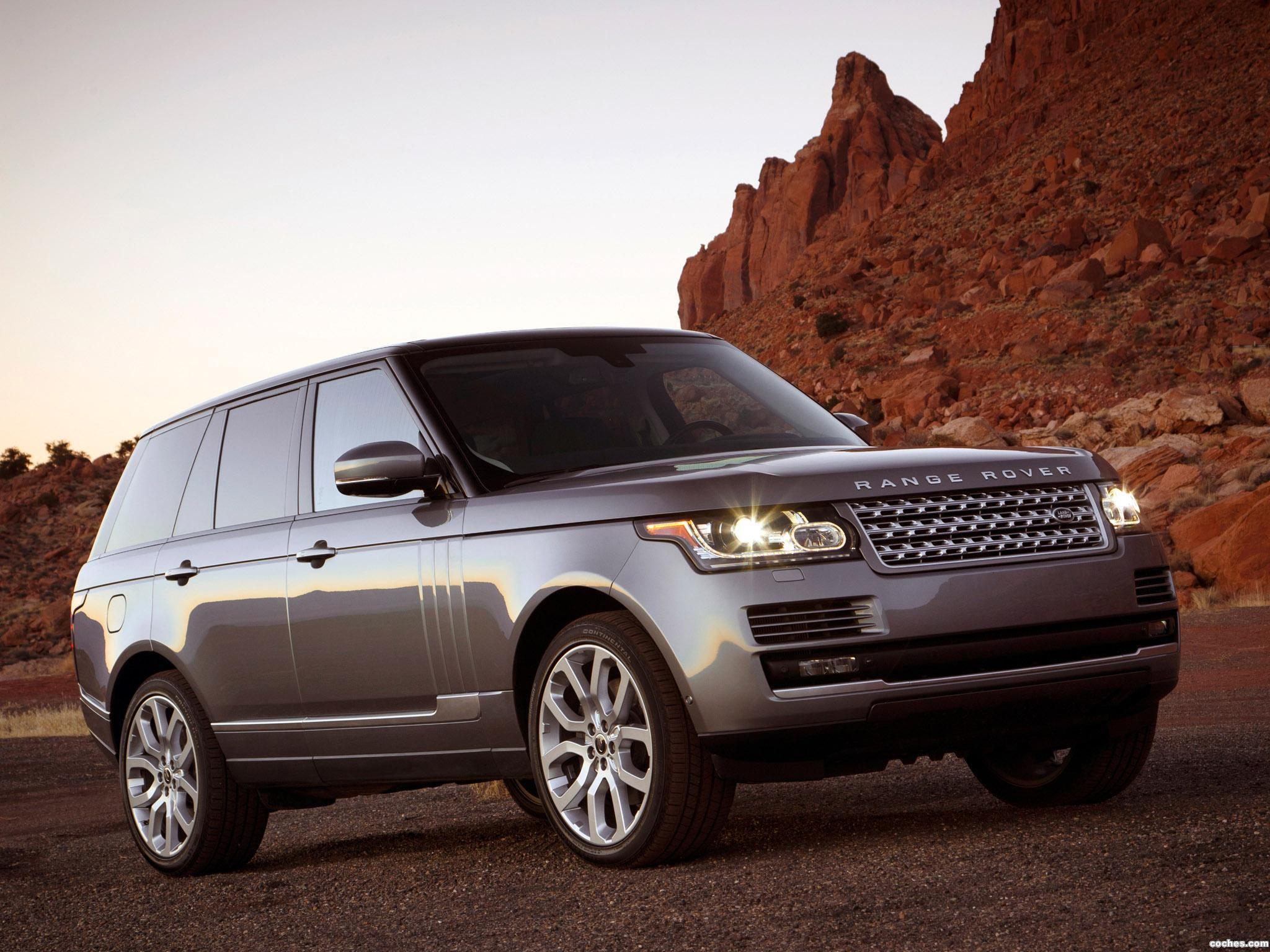 Foto 0 de Land Rover Range Rover Supercharged USA 2013
