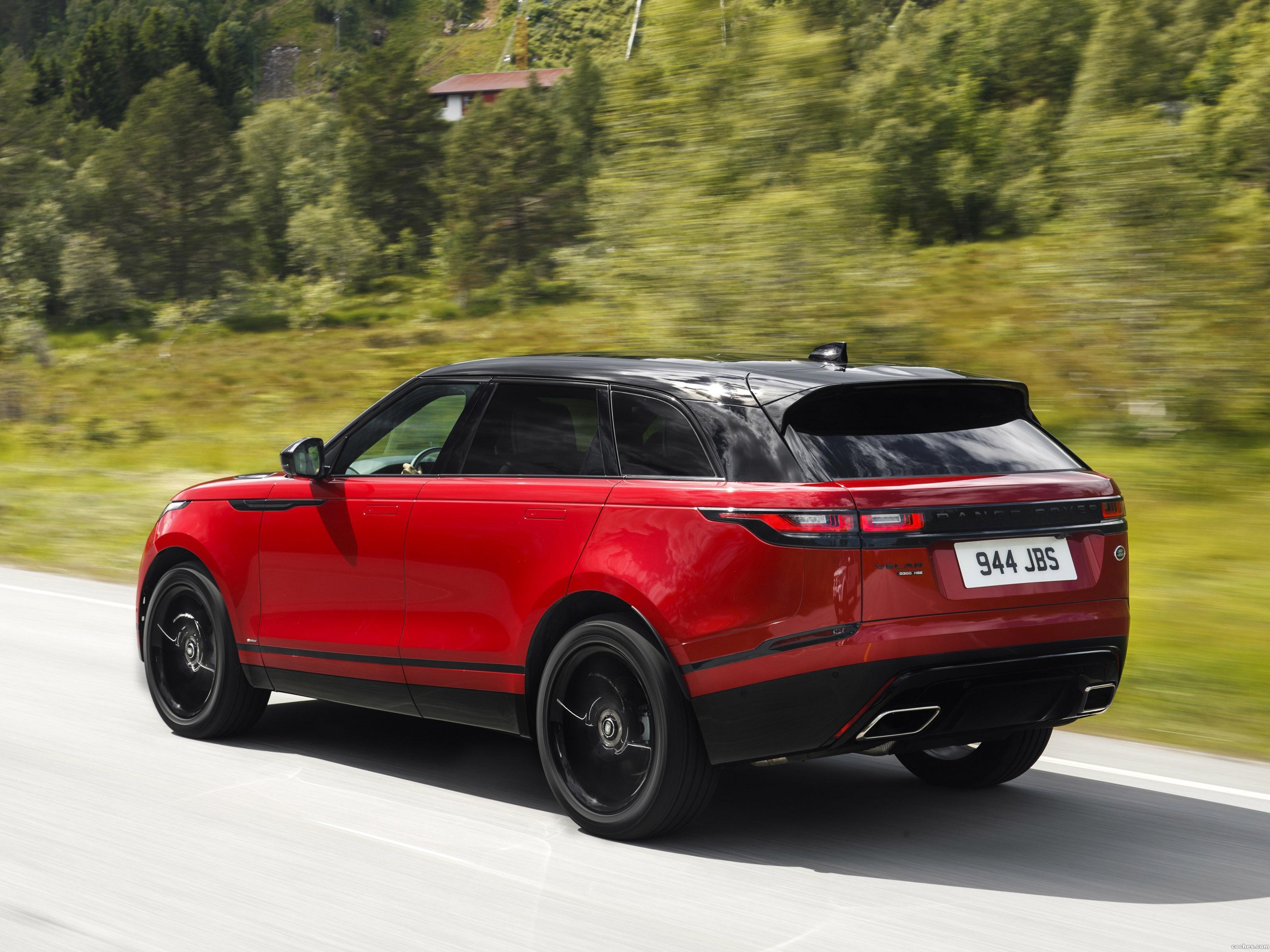 Foto 11 de Land Rover Range Rover Velar R-Dynamic D300 HSE Black Pack 2017