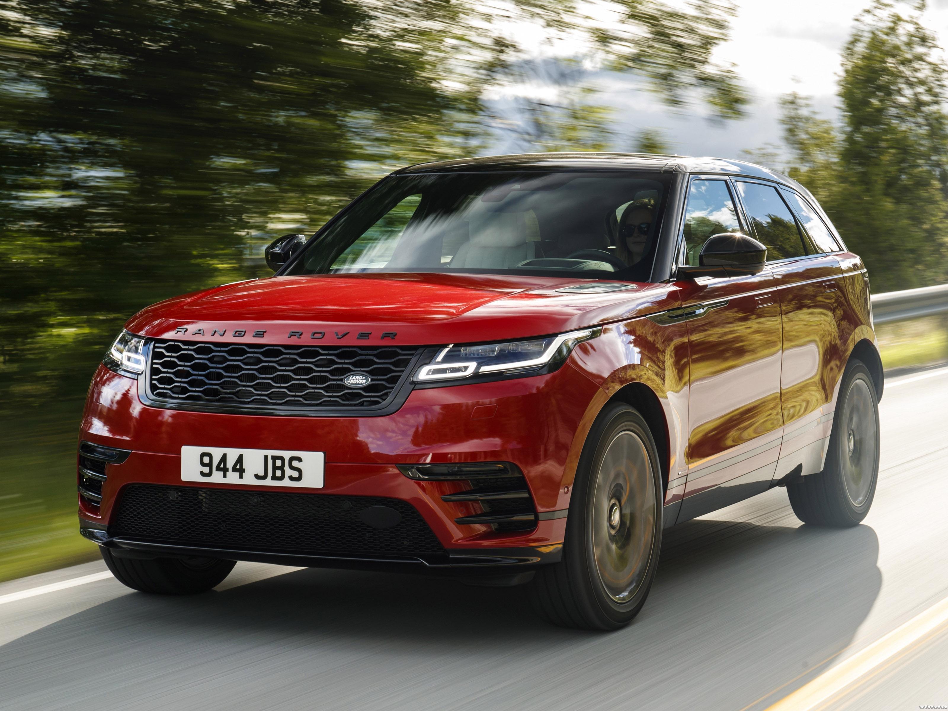 Foto 0 de Land Rover Range Rover Velar R-Dynamic D300 HSE Black Pack 2017