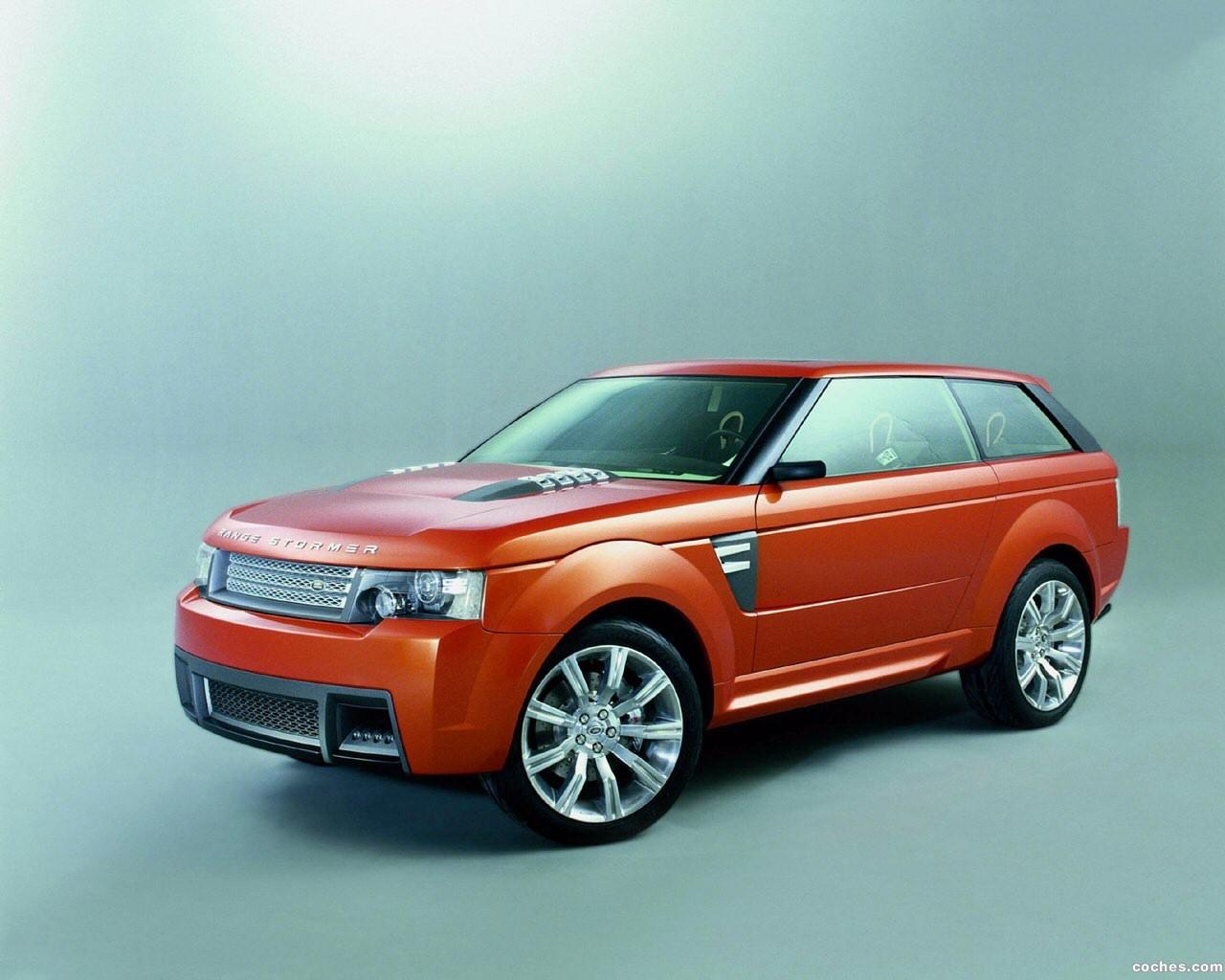 Foto 0 de Land Rover Range Stormer Concept 2004