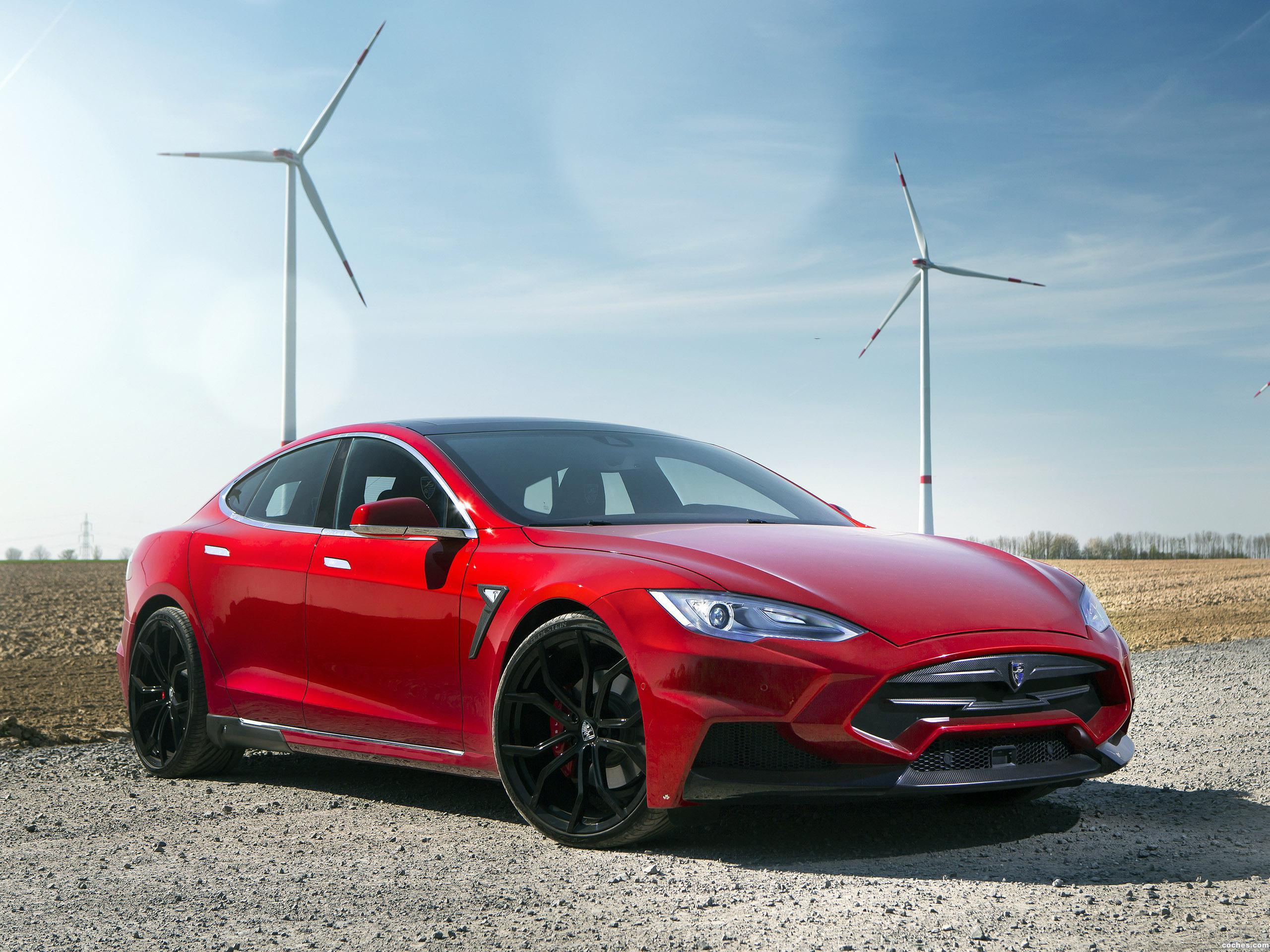 Foto 0 de Larte Design Tesla Model S Elizabeta 2015