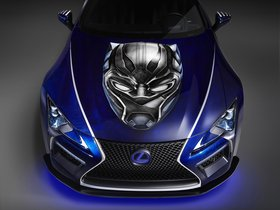 Ver foto 3 de Lexus LC Black Panther Inspired  2017