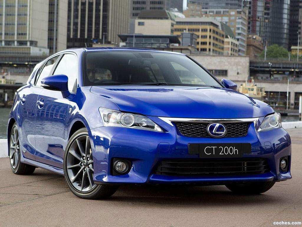 Foto 0 de Lexus CT 200h F Sport 2010