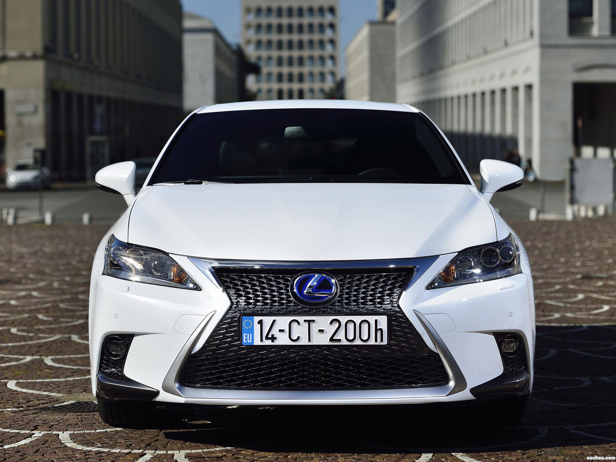 Foto 0 de Lexus CT 200h F-Sport 2014