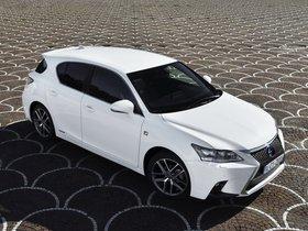 Ver foto 4 de Lexus CT 200h F-Sport 2014