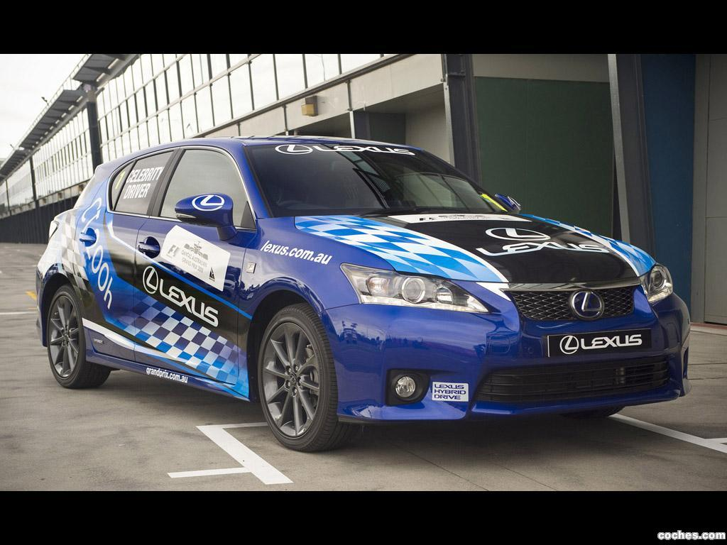 Foto 0 de Lexus CT 200h Hybrid Racer 2011