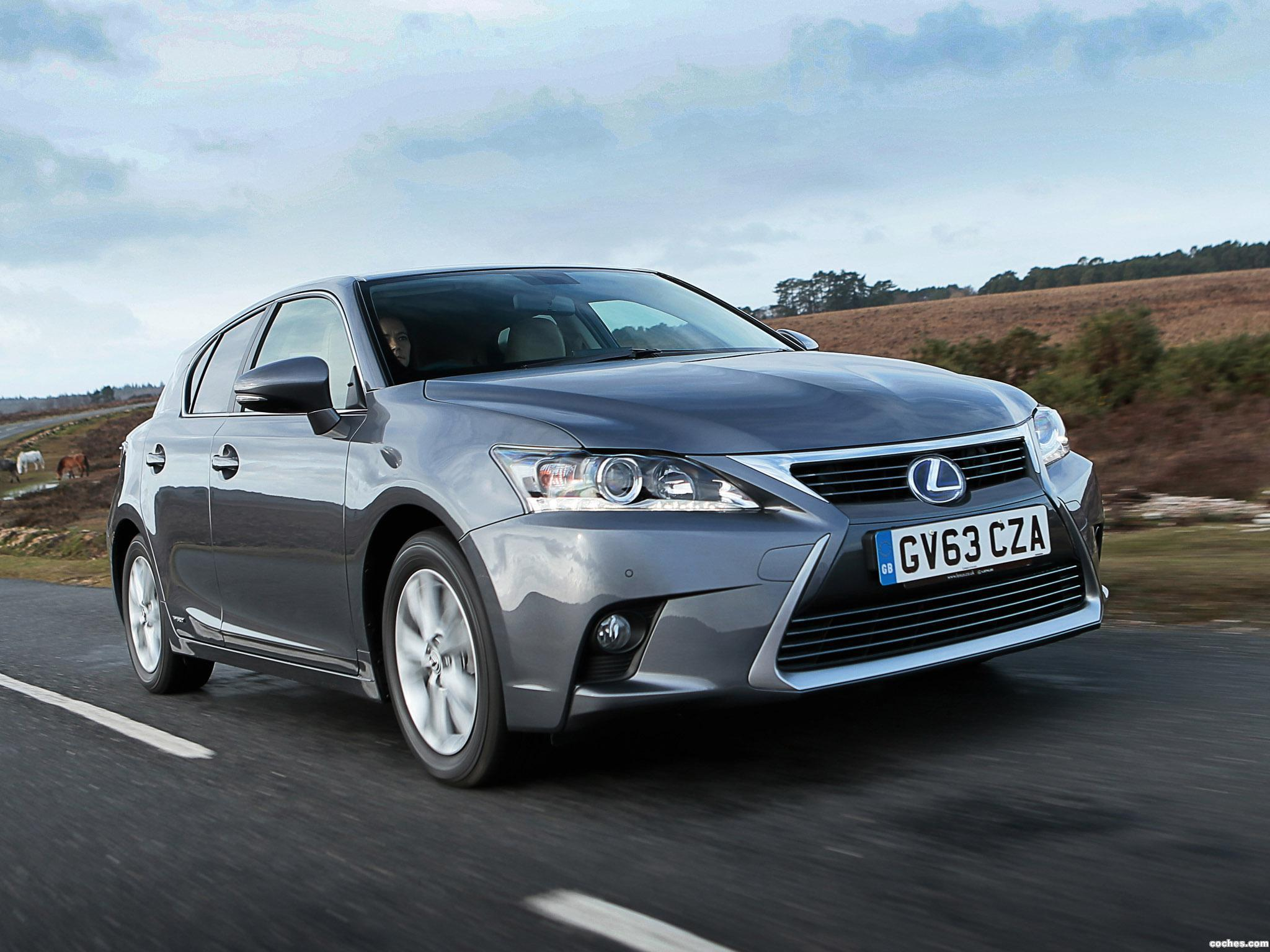 Foto 0 de Lexus CT 200h UK 2014