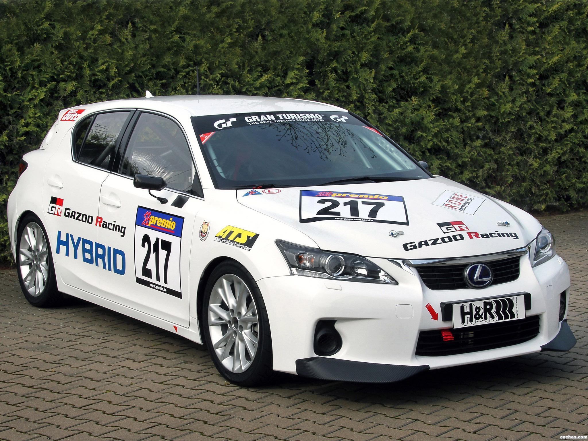 Foto 0 de Lexus CT 200h Gazoo Racing 2011