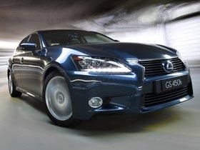 Ver foto 1 de Lexus GS 450h Australia 2012